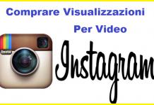 comprare visualizzazioni video Instagram